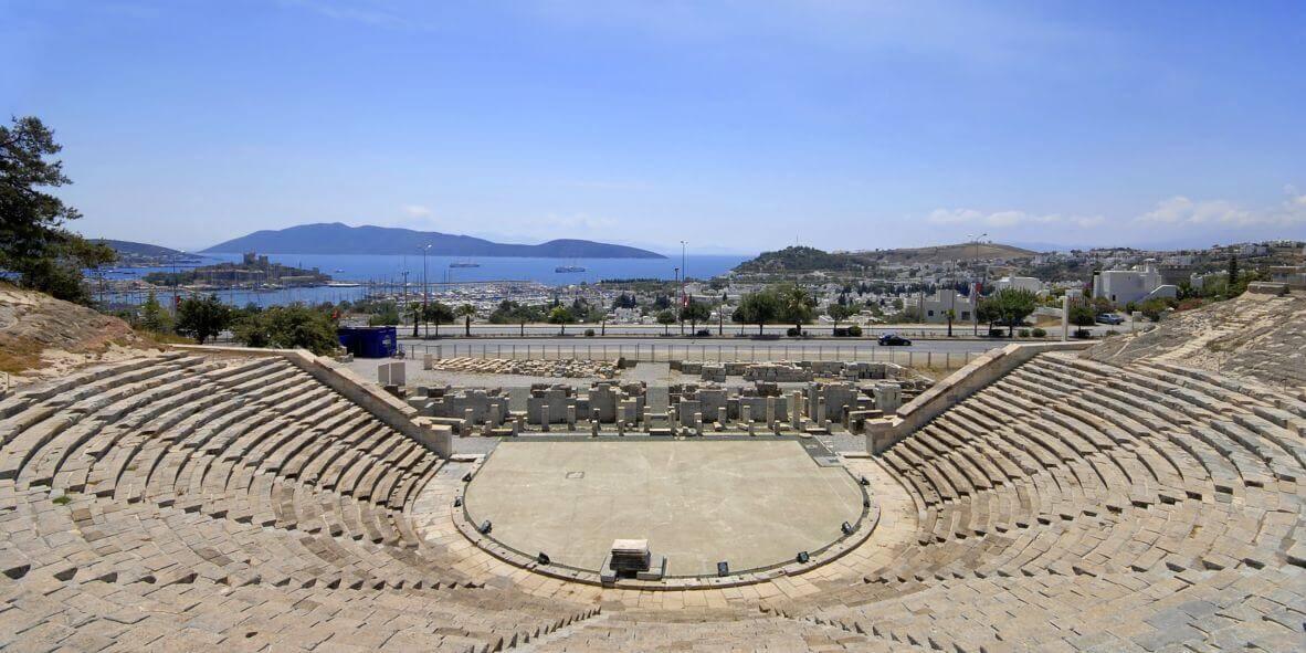 Amfiteatrul antic - Bodrum, Turcia