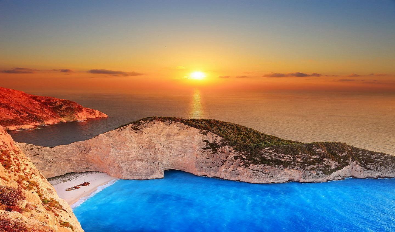 Apus de soare la Navagio - Zakynthos