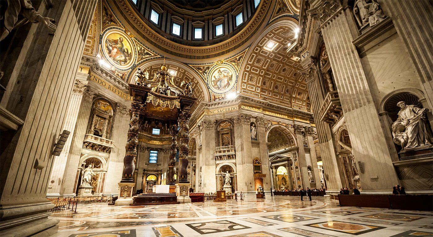 Basilica San Pietro - Vatican (interior)