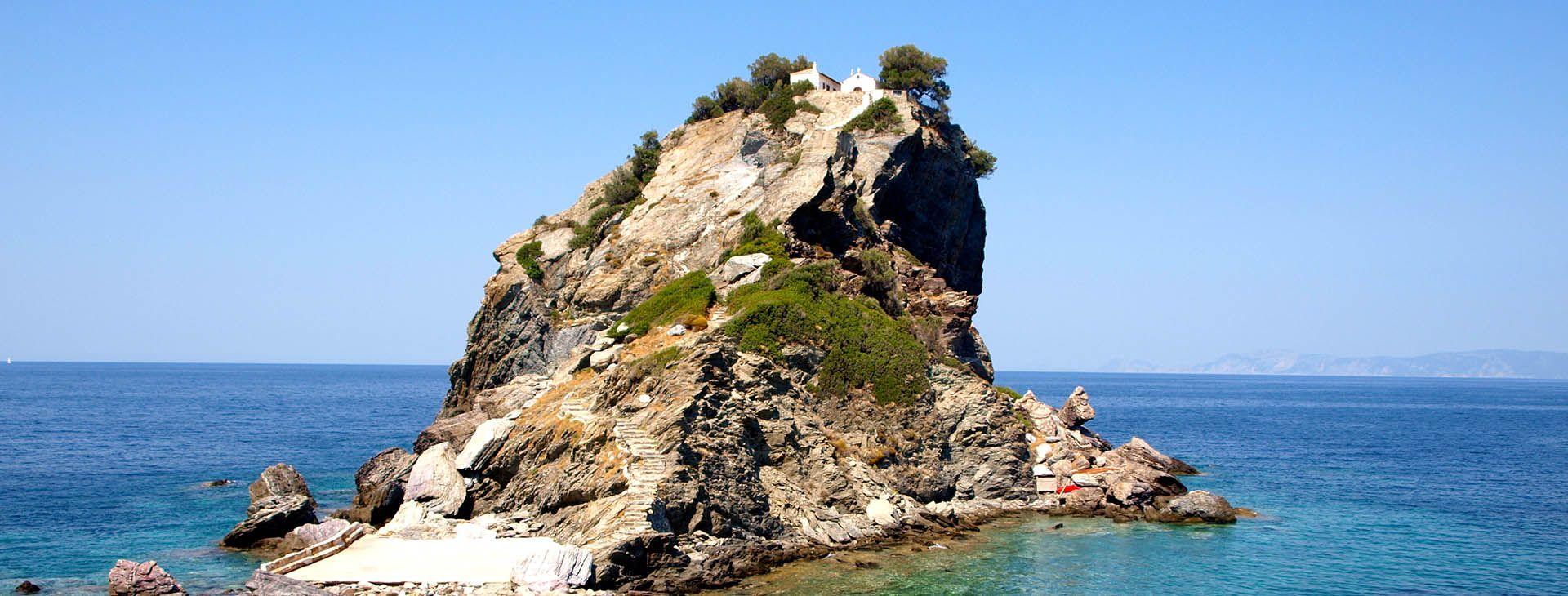 Biserica Agios Ioannis - Skopelos