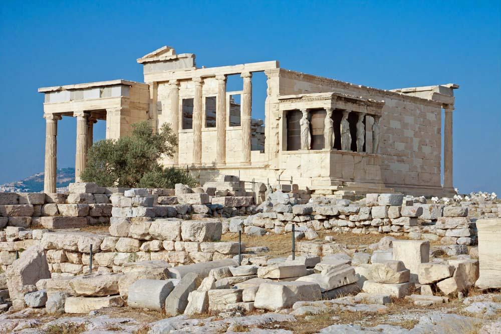 Erechtheion - Akropole, Atena