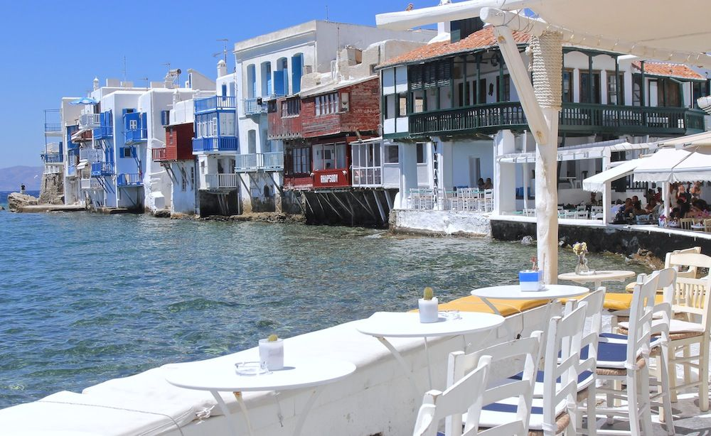 Little Venice - insula Mykonos