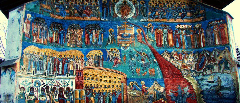 Manastirea Voronet - Capela Sixtina a Estului