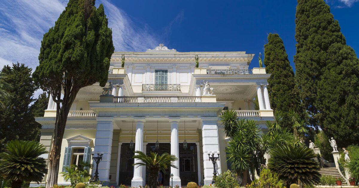 Palatul Achilleion - Gastouri, Corfu