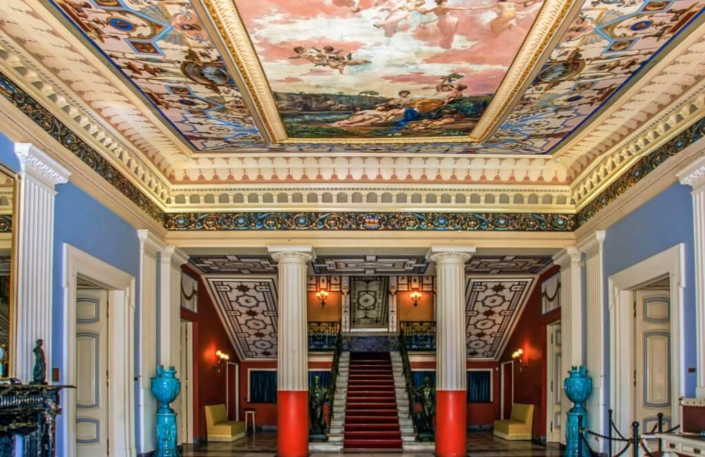 Palatul Achilleion - interior