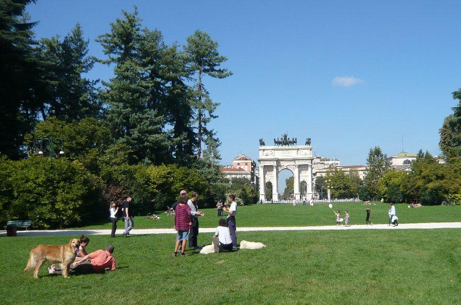 Parcul Sempione - Milano