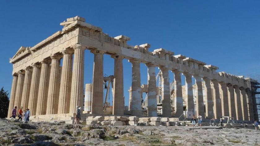 Parthenon - Acropole, Atena