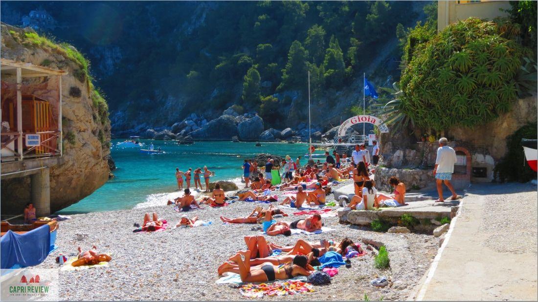 Plaja Marina di Mulo - insula Capri, Italia