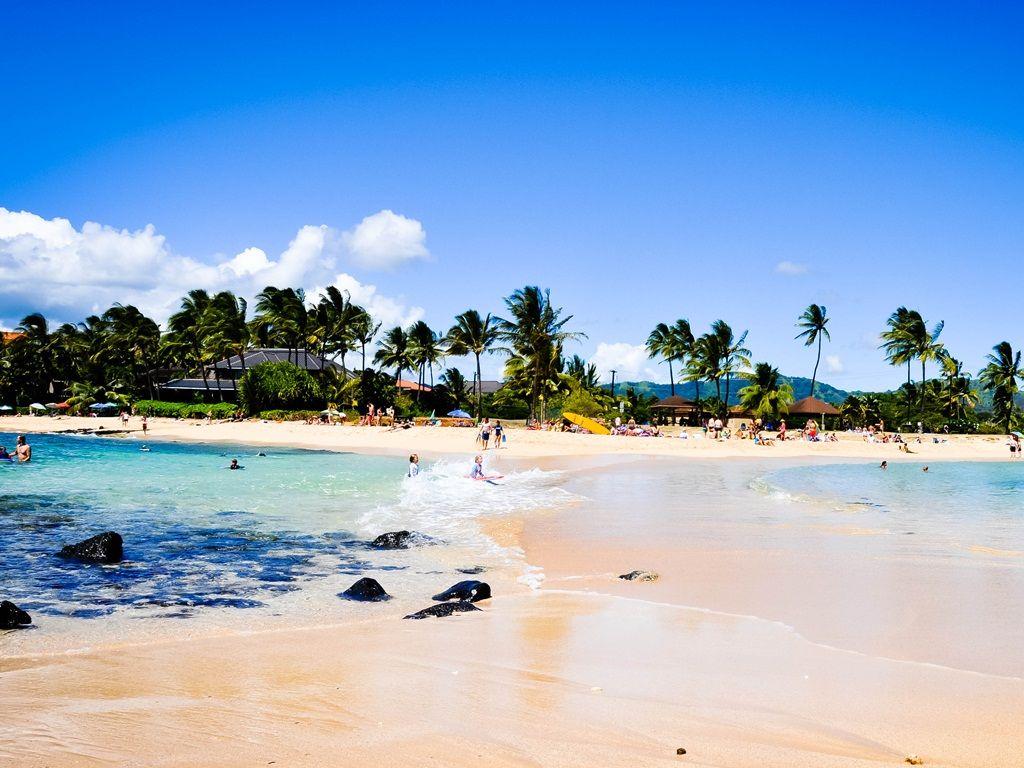 Plaja Poipu - Hawaii