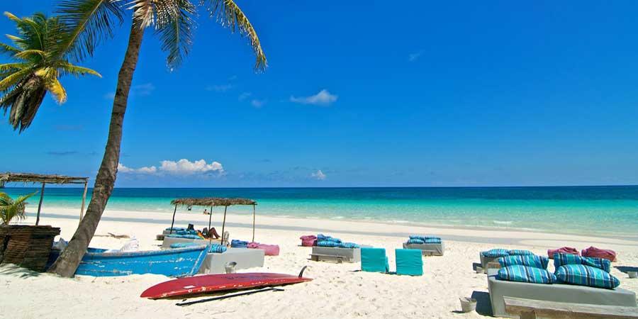 Plaja Tulum - Mexic