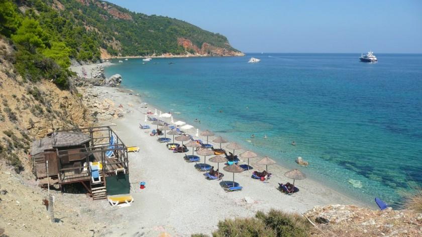 Plaja Velanio - Skopelos