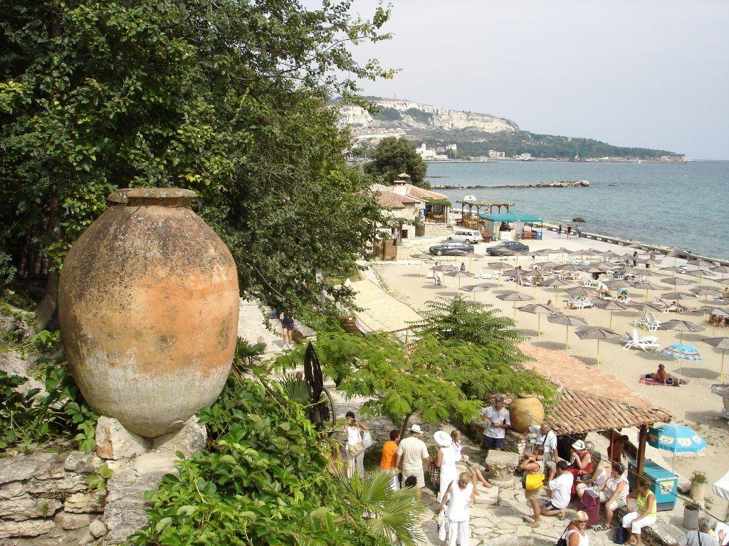 Plaja din Balcic