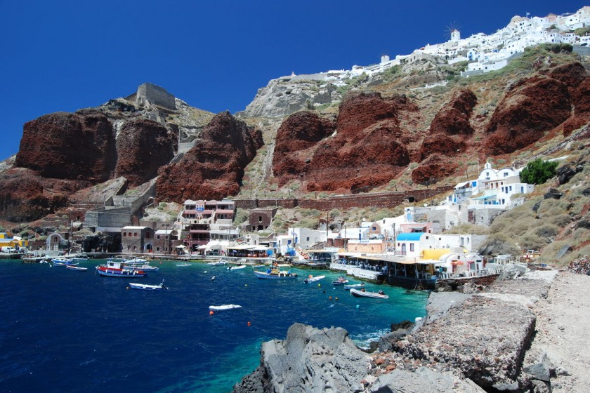 Portul Ammoudi - Santorini