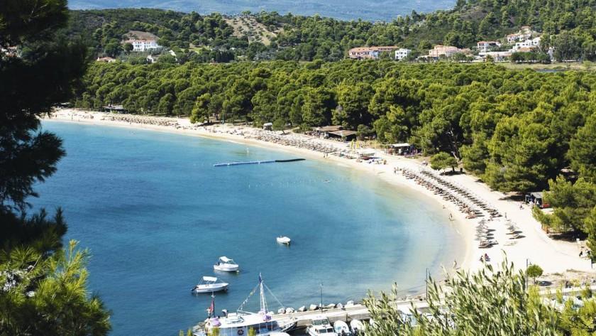 Skiathos - Grecia: Plaja Koukounaries