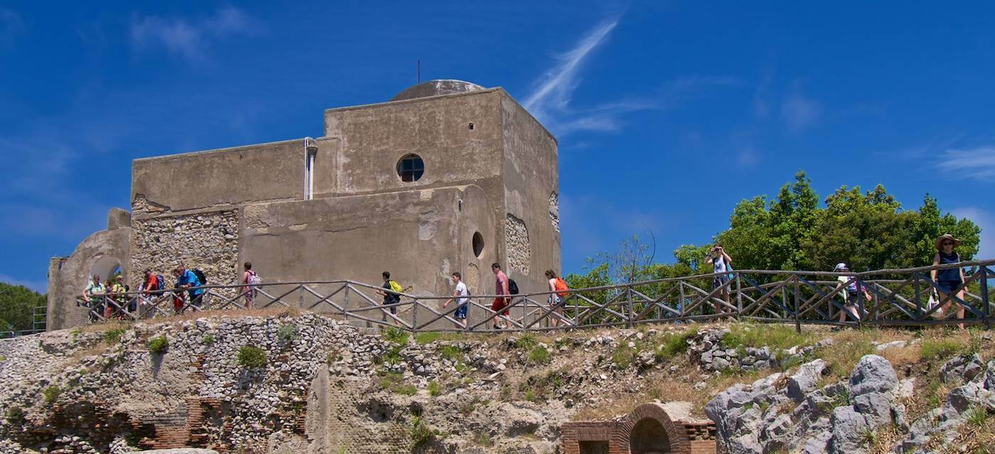 Vila Jovis - insula Capri. Italia
