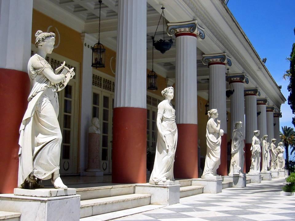 Palatul Achilleion . insula Corfu
