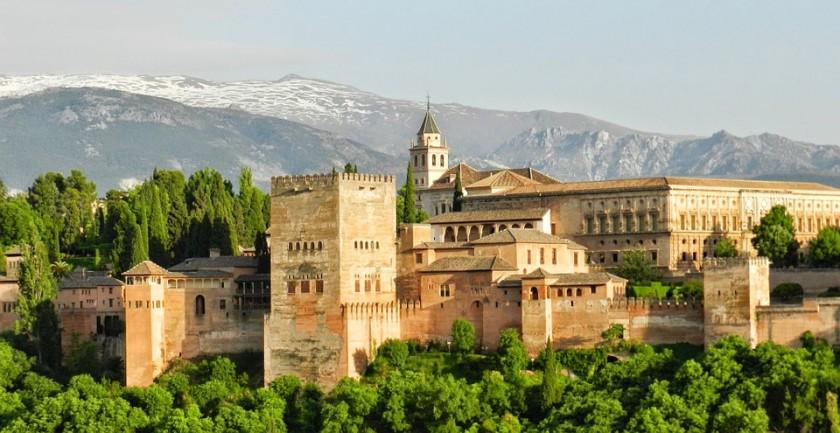 Alhambra - Granada, Spania