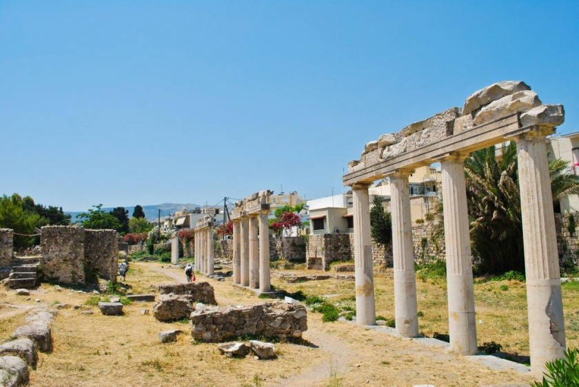 Askplepion - insula Kos, Grecia