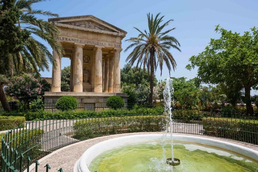 Gradinile Baracca - Malta