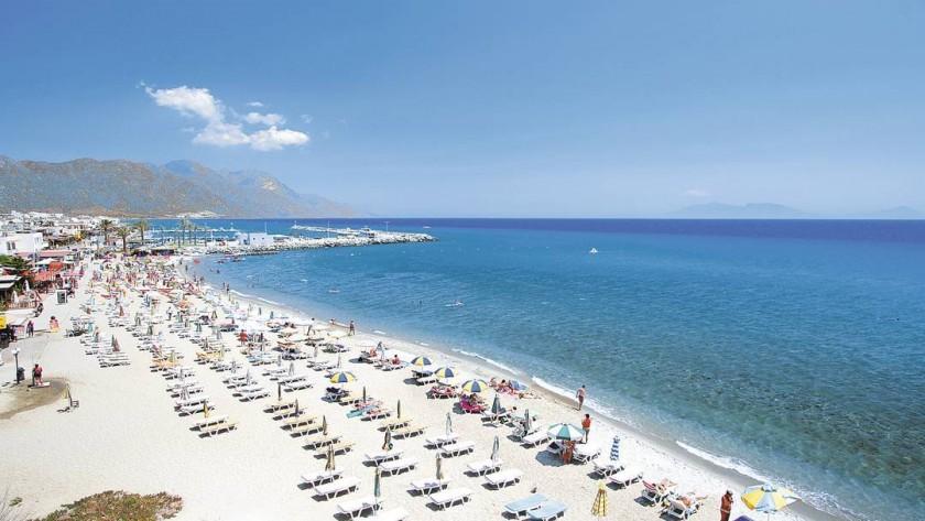 Plaja Kardamena - insula Kos, Grecia