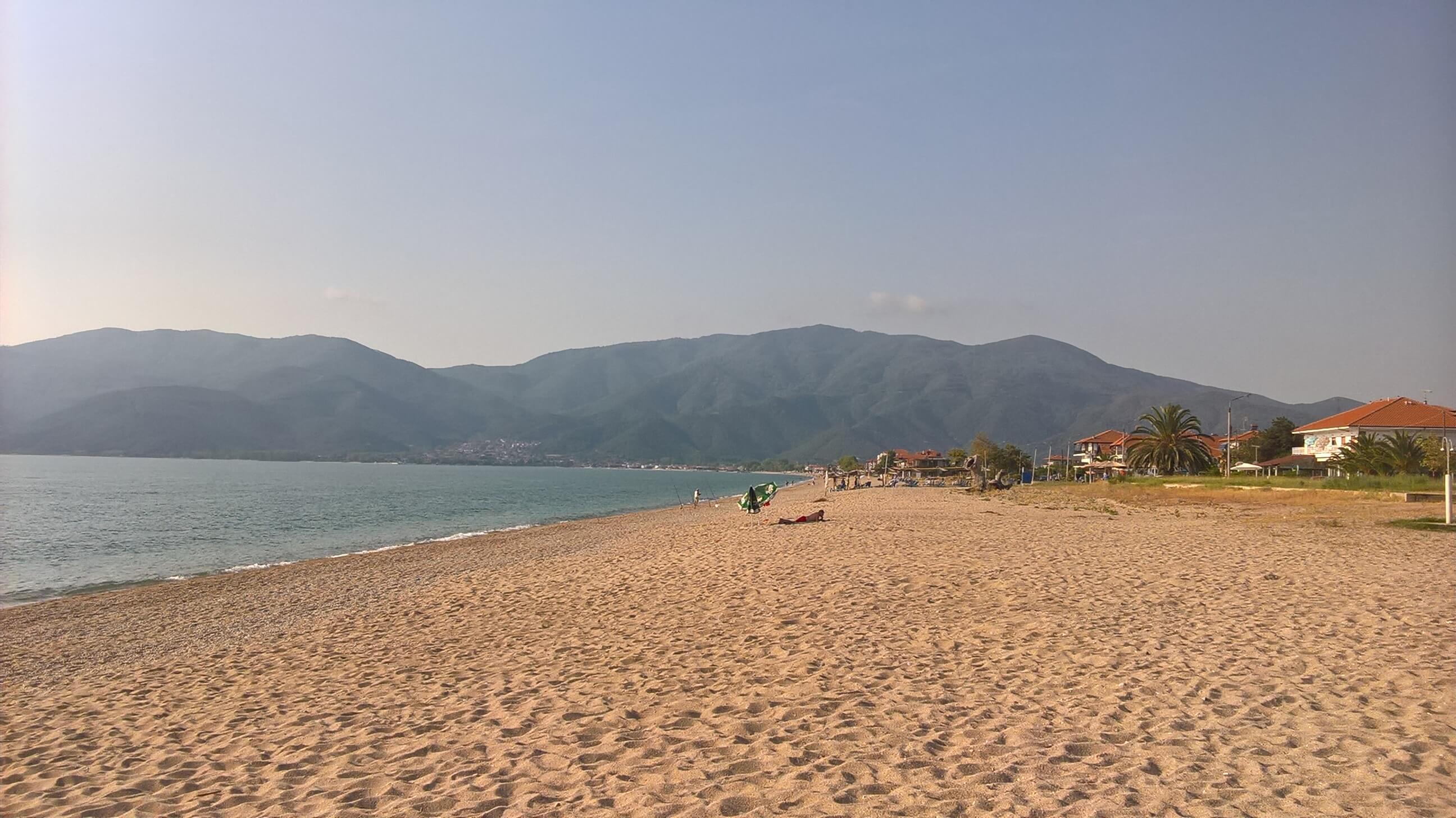 Plaja din Asprovalta - Halkidiki, Grecia
