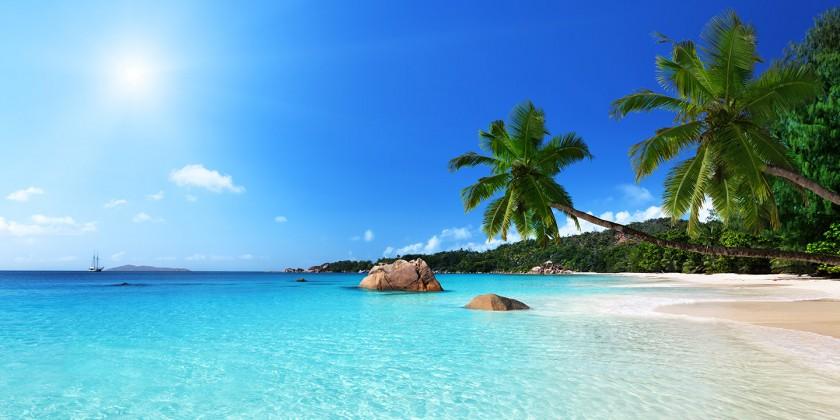 Insula Praslin (Seychelles) - Plaja Cote d'Or