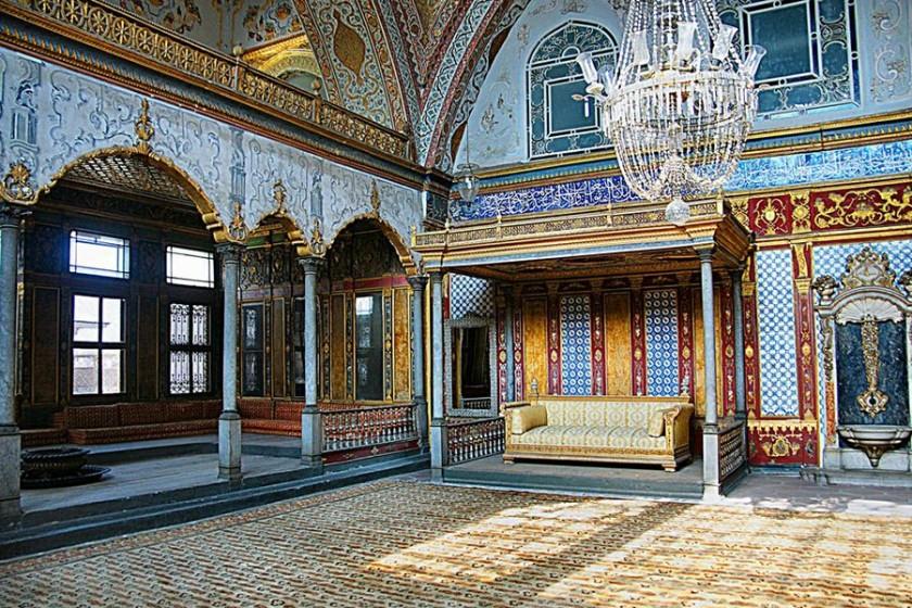 Palatul Topkapi - interior