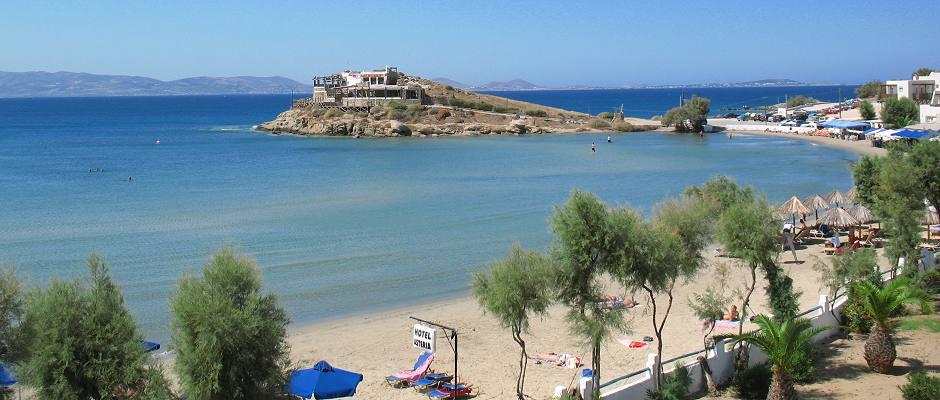 Plaja Agios Georgios - Naxos, Grecia