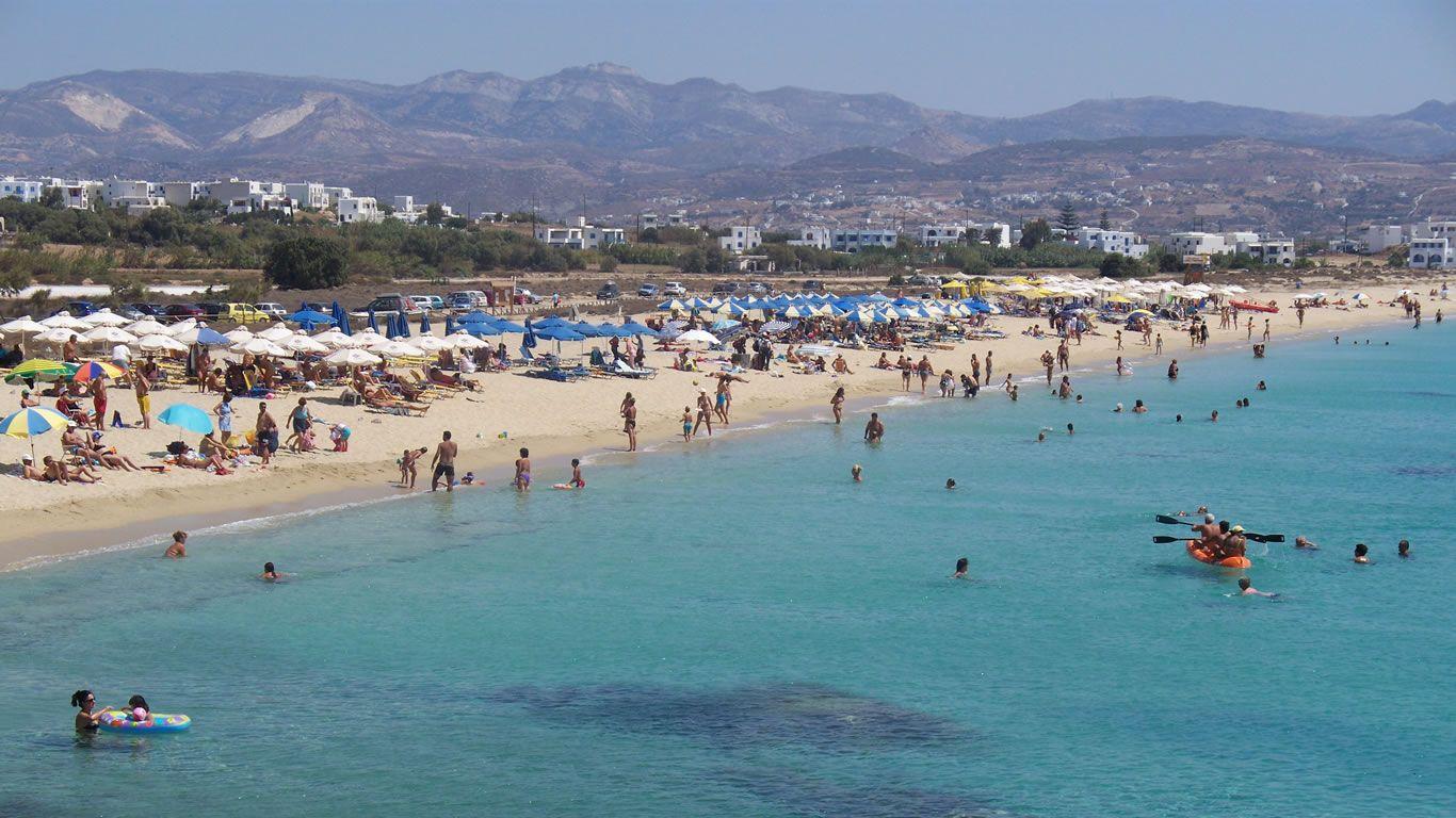 Plaja Agios Prokopios - Naxos, Grecia