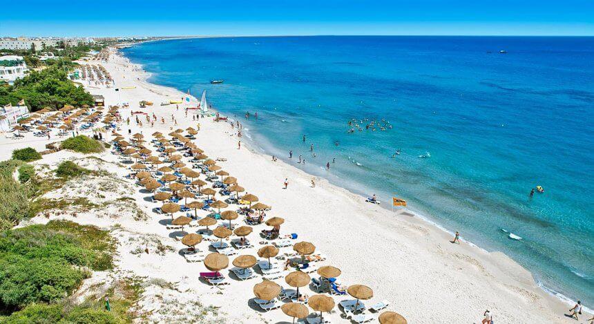 Plaja Boujaffar - Sousse, Tunisia