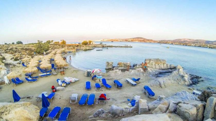 Plaja Kolymbithres - insula Paros, Grecia