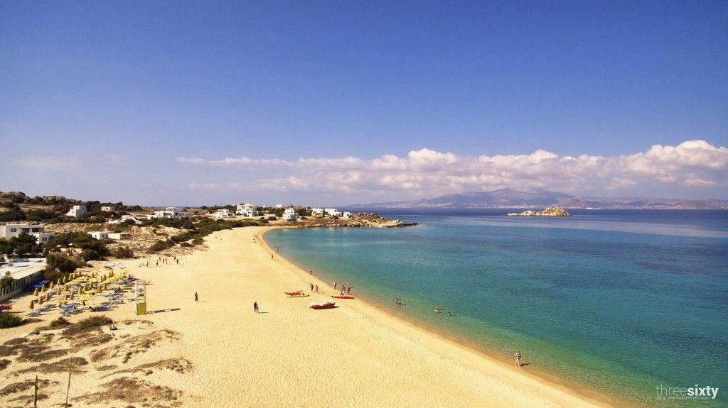 Plaja Mikri Vigla - Naxos, Grecia