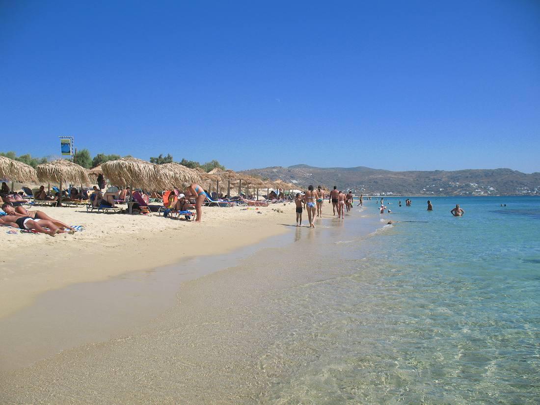 Plaja Plaka - Naxos