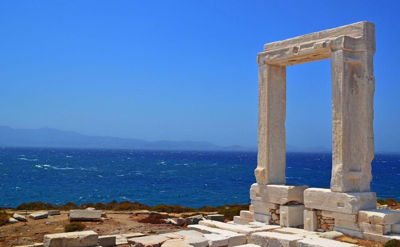 Templul Portara - Naxos, Grecia