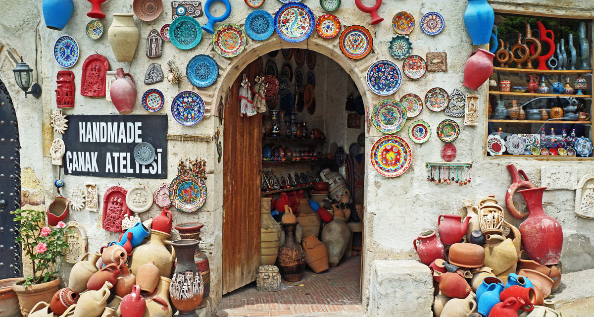 Atelier de olarit in Avanos - Cappadocia