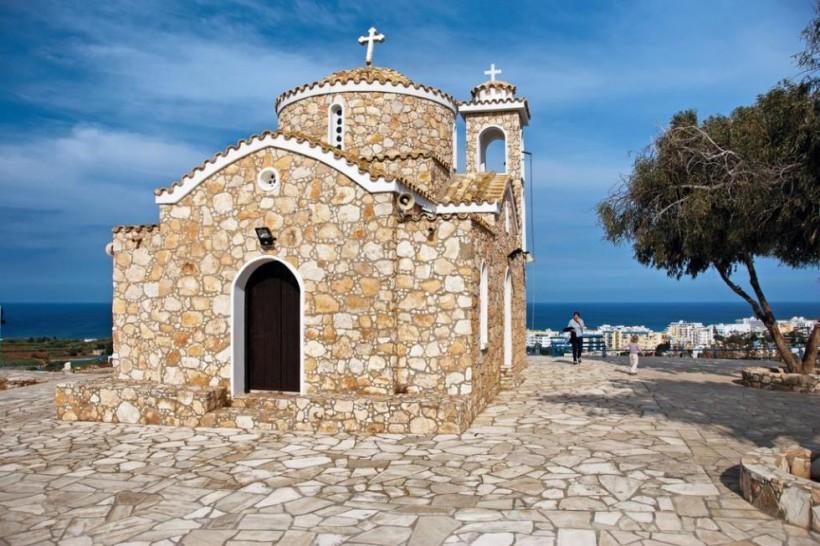 Biserica Profetului Ilie - Protaras, Cipru