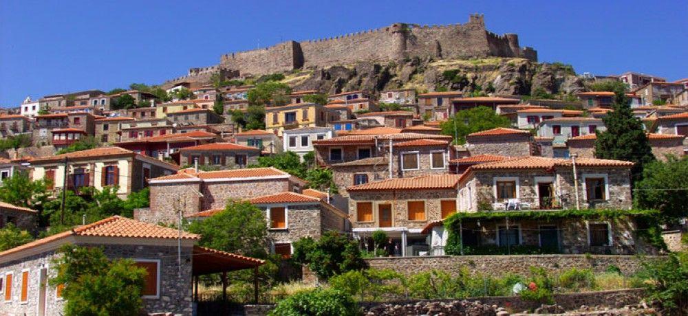 Castelul Molyvos - insula Lesbos