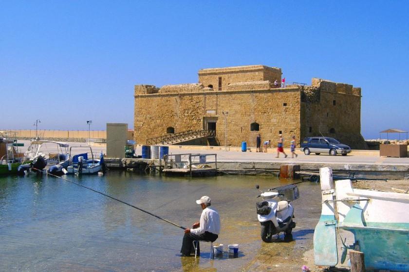 Castelul din Paphos - Cipru