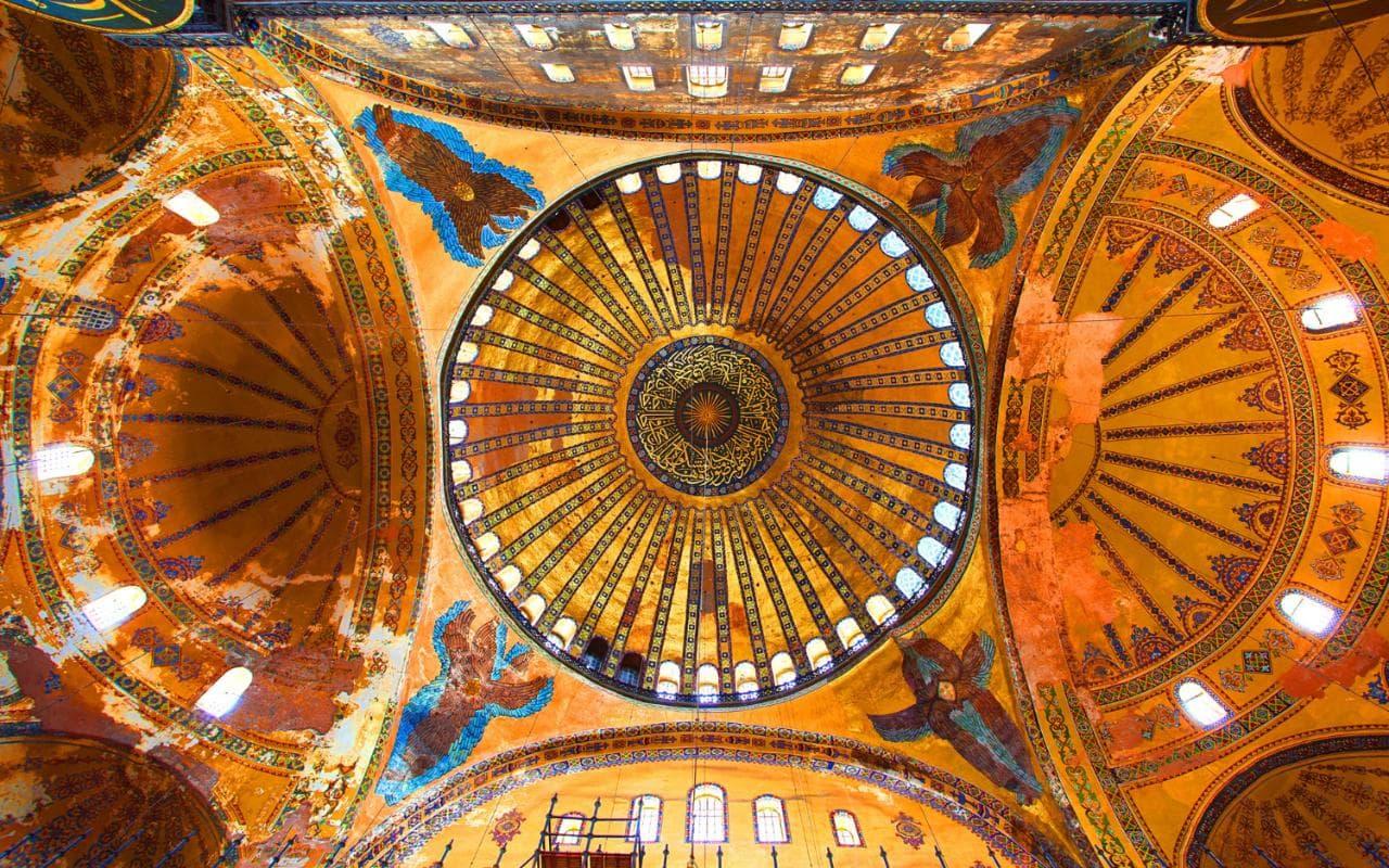 Cupola Basilicii Hagia Sofia