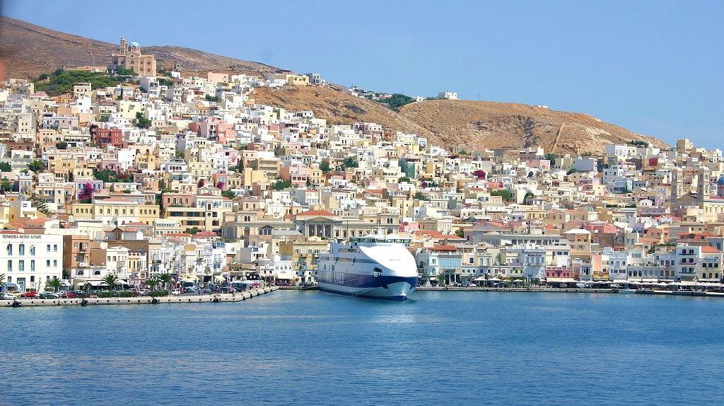 Ermoupolis - insula Syros, Grecia