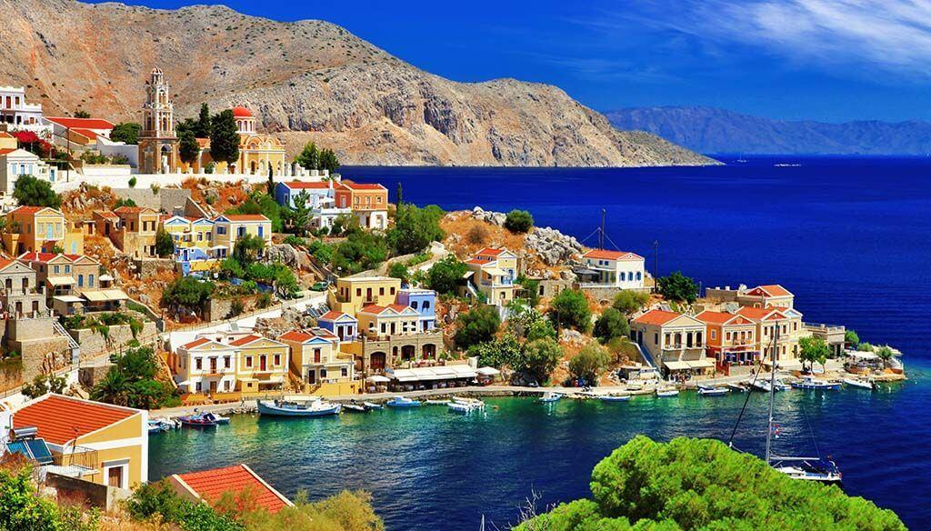 Insula Symi - Grecia