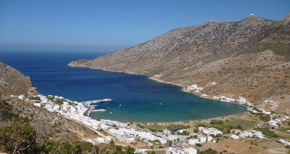 Kamares - insula Sifnos, Grecia
