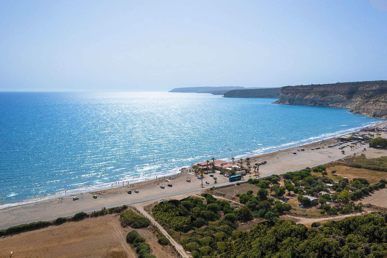 Kourion Beach - Limassol, Cipru