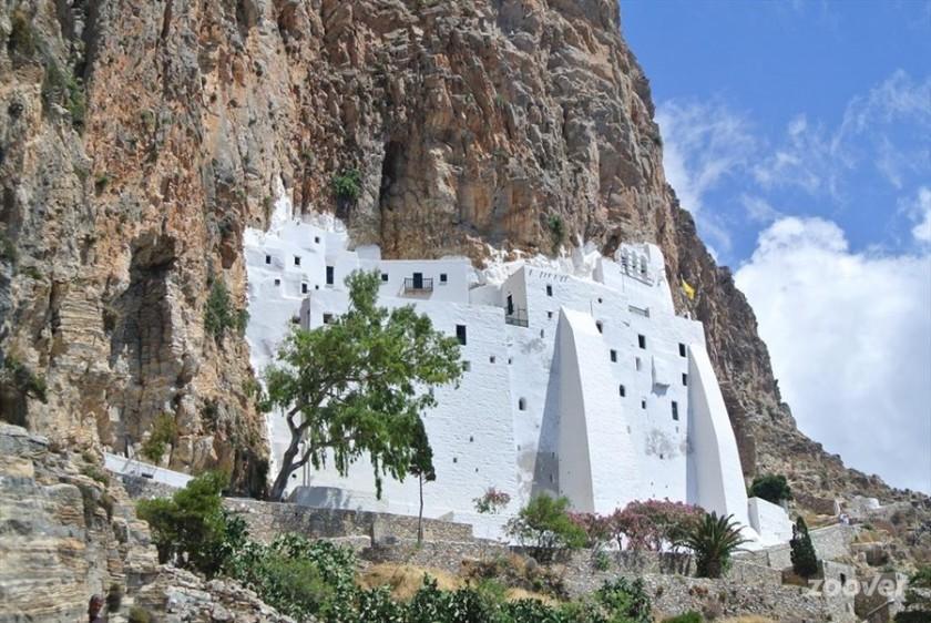 Manastirea Hozoviotissa - Amorgos, Grecia