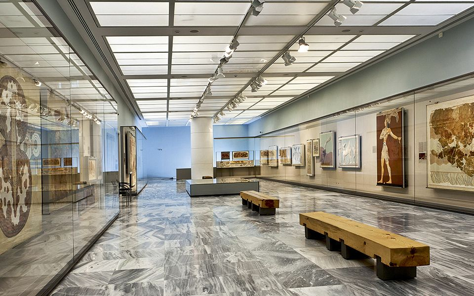 Muzeul de Arheologie din Creta - Heraklion
