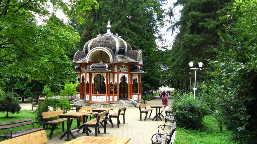 Parcul din Vatra Dornei