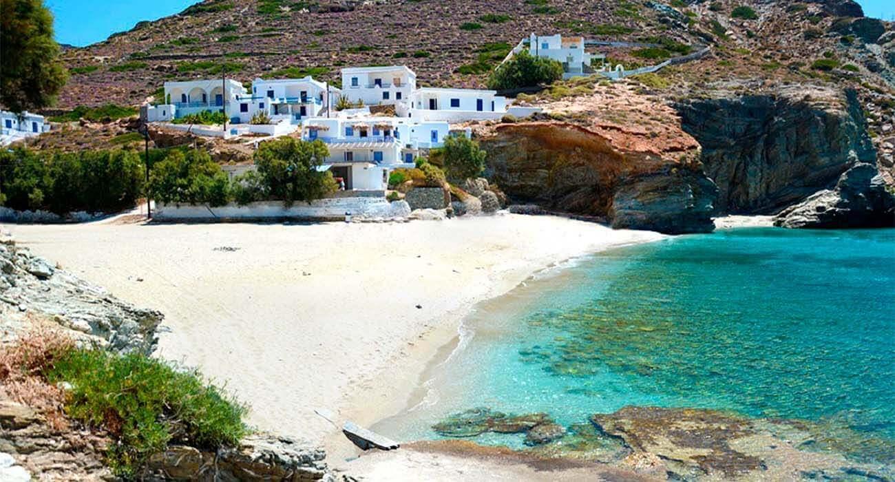 Plaja Agali - insula Folegandros