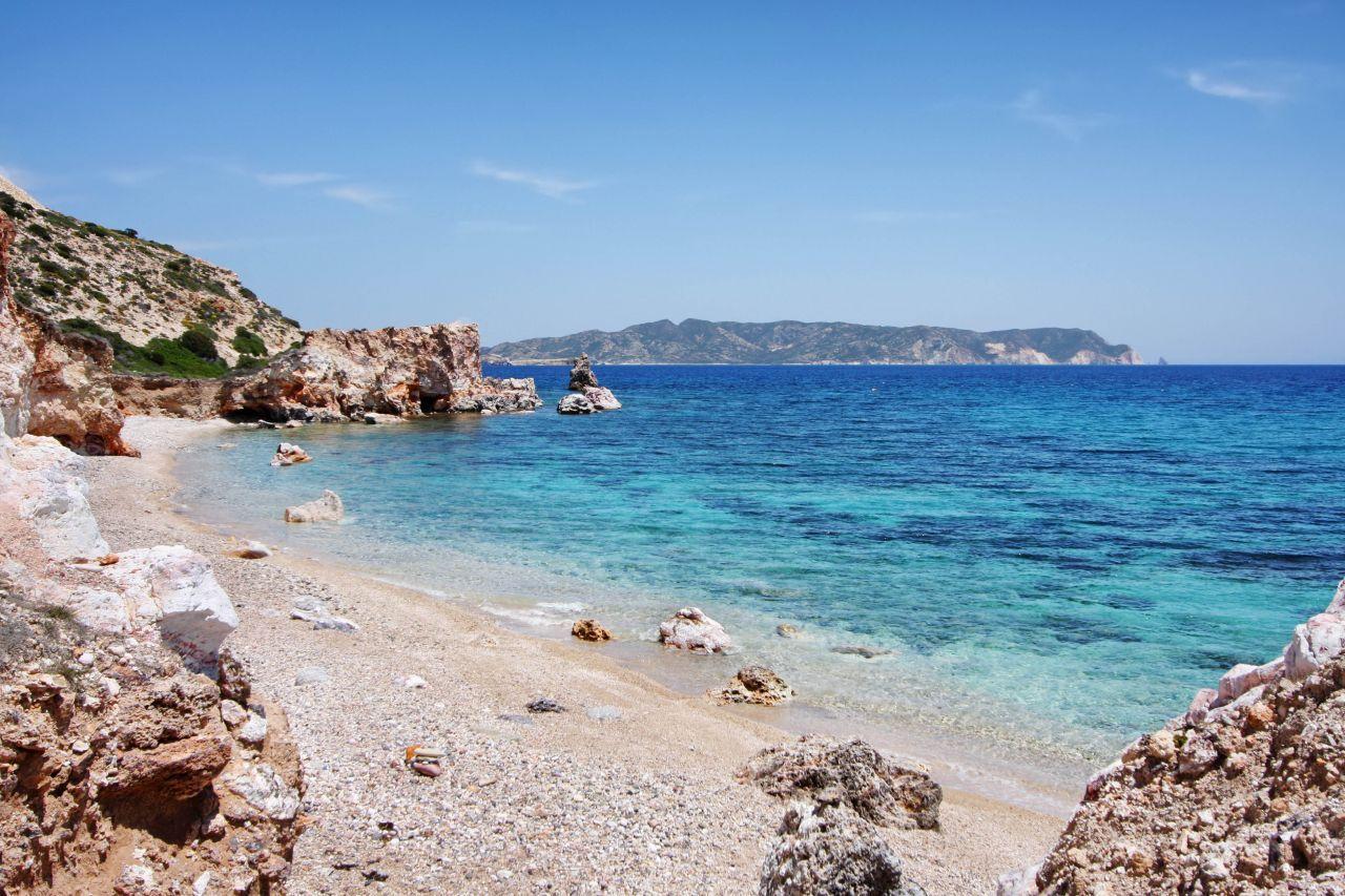 Plaja Kastanas - Milos