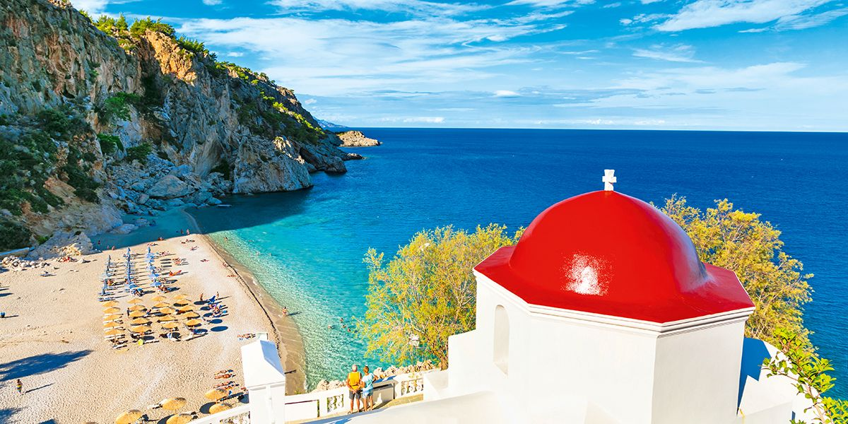 Plaja Kyra Panagia - insula Karpathos, Grecia