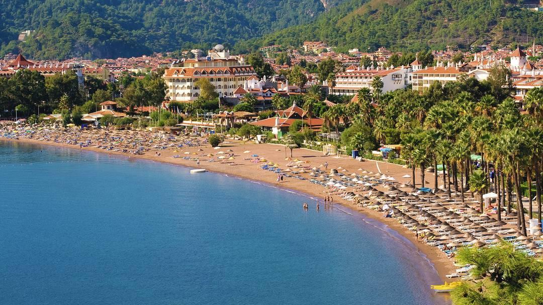 Plaja in Marmaris - Turcia